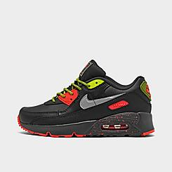 Boys' Little Kids' Nike Air Max 90 SE Casual Shoes