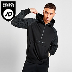 Men's Nike Sportswear Air Max Logo Half-Zip Fleece Hoodie