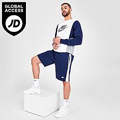 Men's Nike Sportswear Hybrid French Terry Shorts