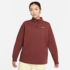 Women's Nike Sportswear Trend Quarter-Zip Fleece Sweatshirt