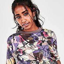 Women's Nike Sportswear Femme Floral Print Crop T-Shirt