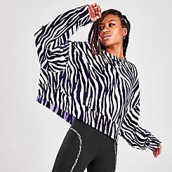 Women's Nike Sportswear Icon Clash Animal Print Crew Sweatshirt