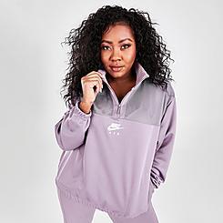 Women's Nike Air Quarter-Zip Sweatshirt (Plus Size)