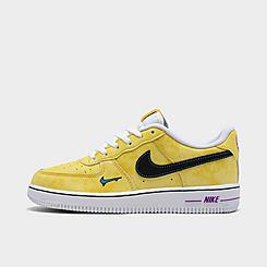 Little Kids' Nike Air Force 1 LV8 Peace, Love, and Basketball Casual Shoes