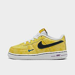 Kids' Toddler Nike Air Force 1 LV8 Peace, Love, and Basketball Casual Shoes