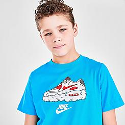 Kids' Nike Sportswear Air Max Cloud Graphic T-Shirt