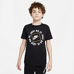 Kids' Nike Sportswear JDI Boxed Logo T-Shirt