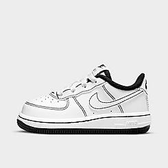 Kids' Toddler Nike Air Force 1 Stitch Casual Shoes