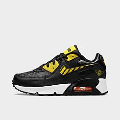 """Little Kids' Nike Air Max 90 """"Bee"""" SE Casual Shoes"""