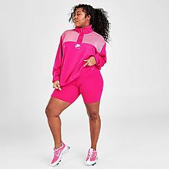 Women's Nike One Mid-Rise 7 Inch Bike Shorts (Plus Size)