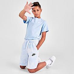 Kids' Nike Sportswear Tie-Dye Magic Club Shorts