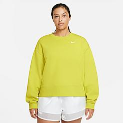 Women's Nike Sportswear Essential Fleece Crew Sweatshirt (Plus Size)