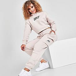Women's Nike Sportswear Emea Fleece Cargo Jogger Pants