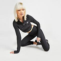 Women's Nike Sportswear Emea Ribbed Crop Leggings