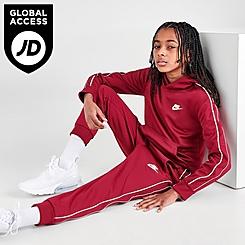 Kids' Nike Futura Repeat Tape Jogger Pants