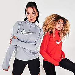 Women's Nike Dri-FIT Swoosh Run Half-Zip Running Midlayer Training Top