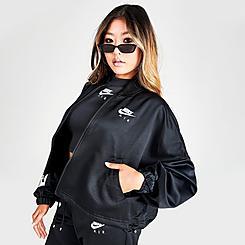 Women's Nike Sportswear Air Woven Cropped Jacket
