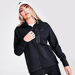 Women's Nike Sportswear Side Zipper Tech Fleece Full-Zip Hoodie