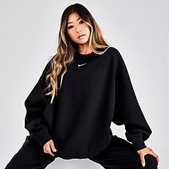 Women's Nike Sportswear Collection Essentials Over-Oversized Fleece Crewneck Sweatshirt