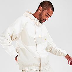 Men's Nike Sportswear Swoosh Woven Lined Jacket