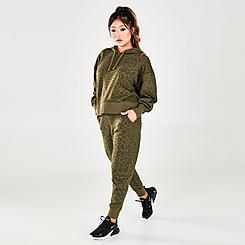 Women's Nike Dri-FIT Get Fit Leopard Print Training Joggers