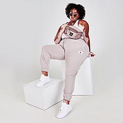 Women's Jordan Essentials Fleece Jogger Pants (Plus Size)