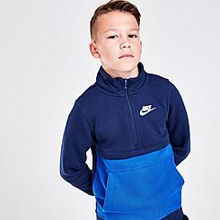 Boys' Nike Sportswear Club Half-Zip Sweatshirt