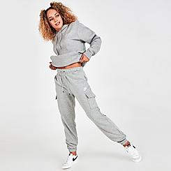 Women's Nike Sportswear Collections Essentials Fleece Cargo Pants