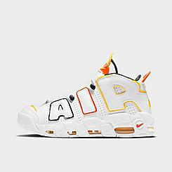 Men's Nike x Roswell Rayguns Air More Uptempo Basketball Shoes