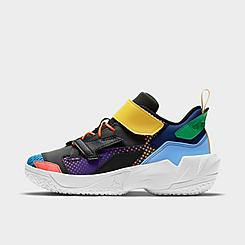 "Little Kids' Jordan ""Why Not?"" Zer0.4 Basketball Shoes"