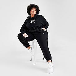Women's Nike Sportswear Essential Fleece Jogger Pants (Plus Size)