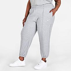 Women's Nike Sportswear Essential Fleece Jogger Pants (Plus Size)