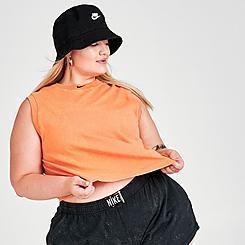 Women's Nike Sportswear Washed Crop Tank (Plus Size)