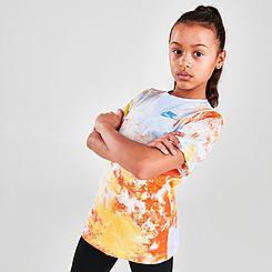 Kids' Nike Sportswear Wild Run Sky Dye Print T-Shirt