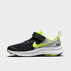 Boys' Little Kids' Nike Star Runner 3 SE Hook-and-Loop Running Shoes