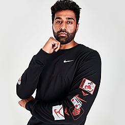 Men's Nike Basketball Heritage Long-Sleeve T-Shirt