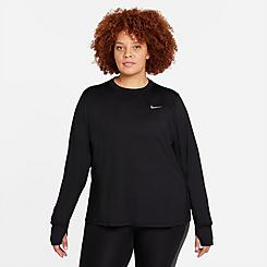 Women's Nike Dri-FIT Element Crewneck Training Top (Plus Size)