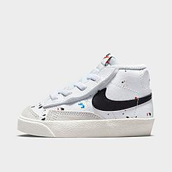 Kids' Toddler Nike Blazer Mid '77 Paint Splatter Casual Shoes
