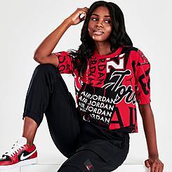 Women's Jordan Allover Print T-shirt