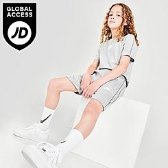 Kids' Nike Sportswear Repeat Logo Shorts