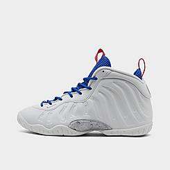 Boys' Big Kids' Nike Little Posite One Basketball Shoes
