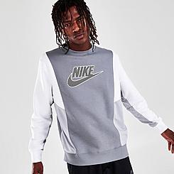 Men's Nike Sportswear Hybrid Fleece Pullover Sweatshirt