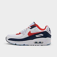 Big Kids' Nike Air Max 90 SE Casual Shoes