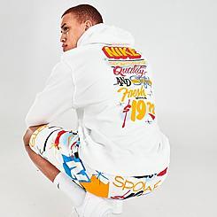 Men's Nike Sportswear Badge Club Fleece Pullover Hoodie