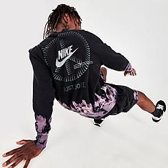Men's Nike Sportswear Logo French Terry Crew Sweatshirt