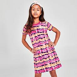 Girls' Nike Sportswear Tie-Dye T-Shirt Dress