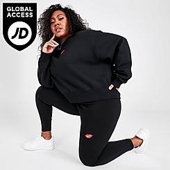 Women's Nike Sportswear Lips Swoosh Leggings (Plus Size)