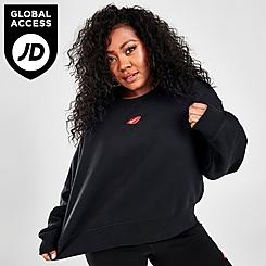 Women's Nike Sportswear Lips Crew Sweatshirt (Plus Size)