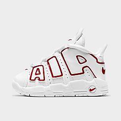 Boys' Toddler Nike Air More Uptempo Basketball Shoes