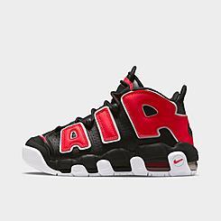 Boys' Big Kids' Nike Air More Uptempo Basketball Shoes